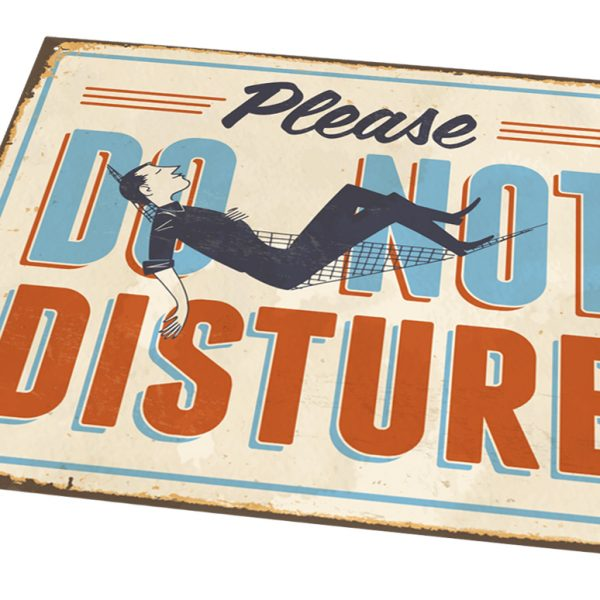 Med Sign [Do Not Disturb]