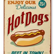 Lg Sign-Hot Dogs