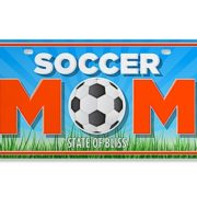 License Plate_Soccer Mom