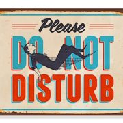 Med Sign_Do Not Disturb