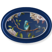 Sm Oval Tray_Birds